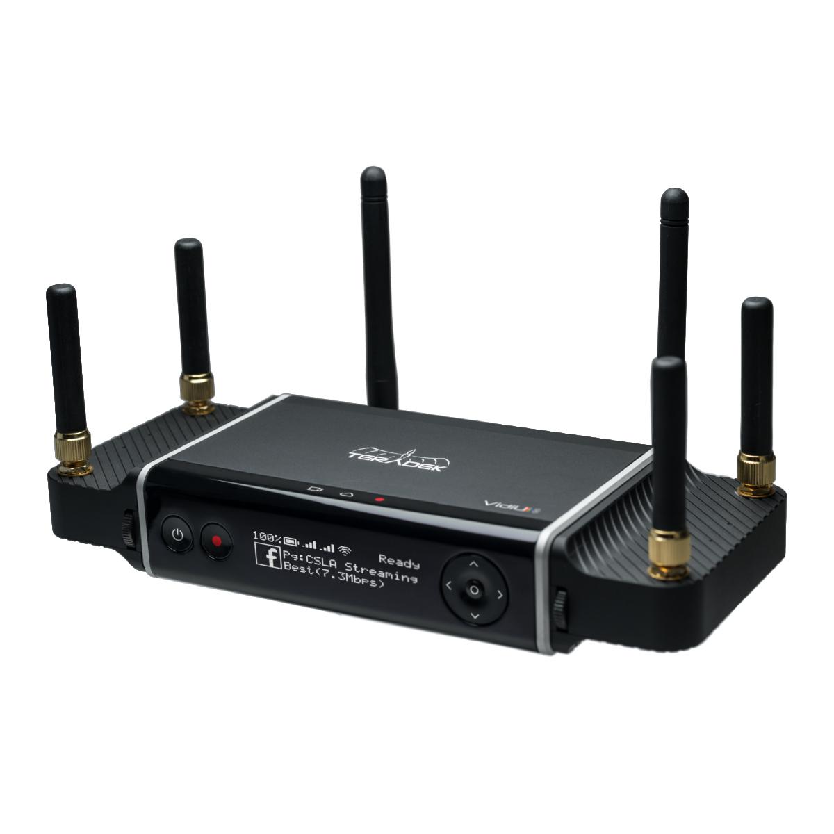 Via ADSL, 4G, Fibre...