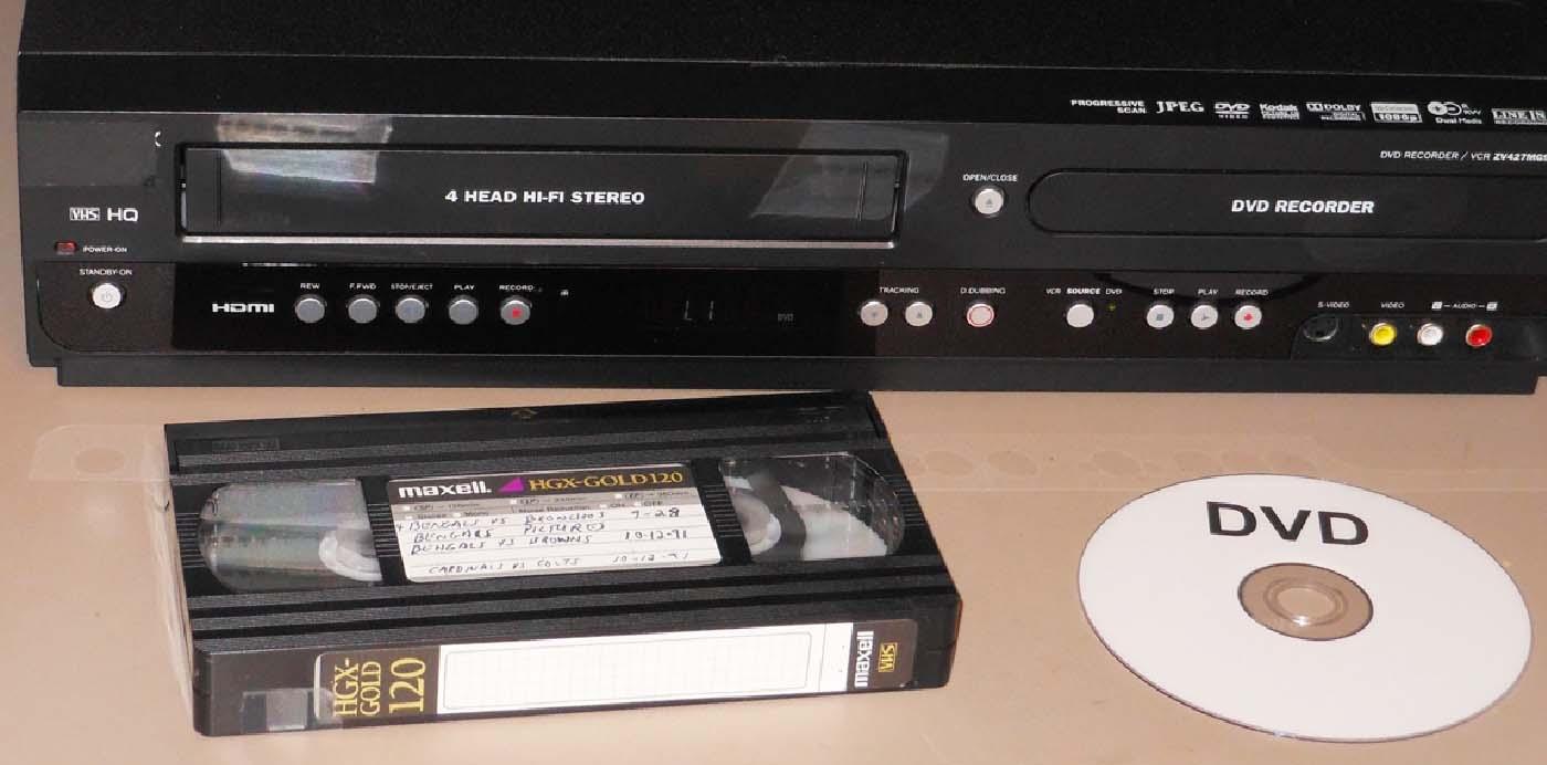 Numérisation des cassettes vidéo